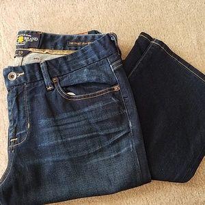 "Lucky Brand ""Sweet Jean"" dark bootleg jean, 8/29"